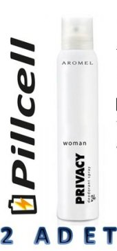 Privasy Women Deodorant 150 Ml * 2 Adet