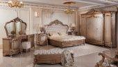 Hansoy Bronz Klasik Yatak Odası