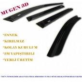 Dacia Duster 3d Cam Rüzgarlığı A++ Kalite 4 Parça Perflex