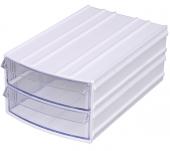 Mim 745 Plastik Çekmeceli Kutu 13x20x8 Cm 10 Lu Pa...
