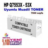 Hp Laserjet P2015 Q7553x Muadil Toner 7000 Sayfa
