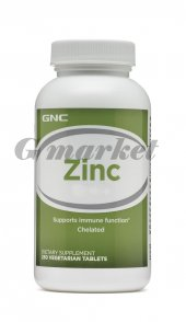 Gnc Zinc 15mg 100 Tablet