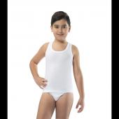 6lı Paket Erdem 3050 Ribana Çocuk Atlet