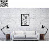 Dekoratif Ahşap Duvar Tablosu 540