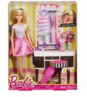 Barbie Saç Tasarımları Seti