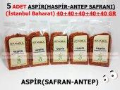 5 Adet Aspir (Haspir Antep Safranı) 5x40gr 1.kalite Taptaze