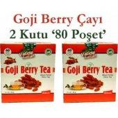 2 Kutu Goji Berry Çayı Goji Berry Tea 40+40 Poşet
