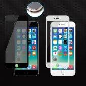 Iphone 6 6s 7 8 Plus 5d Cam Renkli Ekran Komple Kavisli Kırılmaz