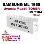 Samsung Ml 1660, Scx 3200 Muadil Toner Mlt D104