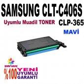C410 C460 Clp365 Mavi Toner C406s