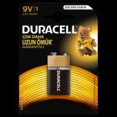 Duracell 9 Volt Pil Tekli