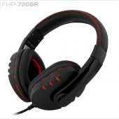 Frısby Fhp 720br Stereo 3.5mm Jack Siyah Mikrofonlu Kulaklık