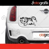 Otografik Garfield Oto Sticker