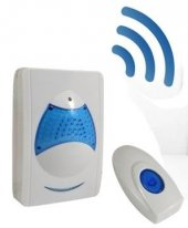 Ulbay Kablosuz Kumandalı Kapı Zili Wireless 36 Farklı Melodi Zil