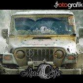 Otografik Mud Lıfe Offroad Oto Stıcker
