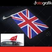Otografik İngiliz Araç Bayrağı Oto Bayrak