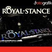Otografik Royal Stance 75cm Oto Ön Cam Stıcker