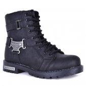 Garenta 120 Erkek Çocuk İçi Kürklü Fermuarlı Kışlık Bot Ayakkabı