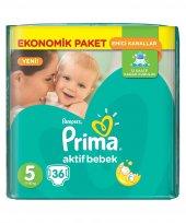Prima 5 Bebek Bezi Ekonomik Paket 11 18 Kg 36 Adet