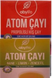 Atom Çayı Nane Limon Zencefil +atom Çayı Propolisli Kış Çayı