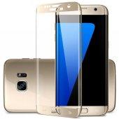 Samsung Galaxy S7 5d 3d Kavisli Kırılmaz Cam Tam Kaplama Ekran Ko