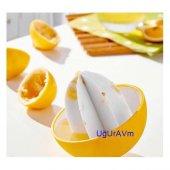 Plastik Pratik Limon Sıkma Aleti