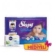 Sleepy Sensitive Midi Pepee 34 Adet (4 9 Kg)