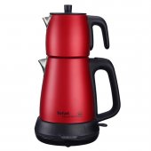 Tefal Tea Expert Çelik Demlik Çay Makinesi Kırmızı