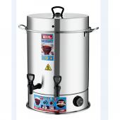 Warm Wasser 160 Bardak Çelik Çay Otomatı & Çay Makinesi Semaver