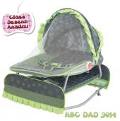 Happy Baby Class Desenli Anadizi(Yeşil Gri)
