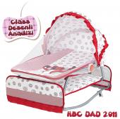 Happy Baby Class Desenli Anadizi(Kırmızı Beyaz)