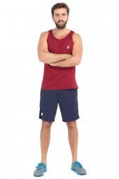 Leu Erkek Spor Fitness Bordo Atlet