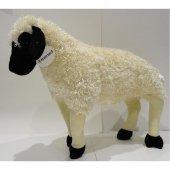 80cm Ayakta Koyun Kuzu Koç Peluş Kaliteli Sağlıklı Oyuncak