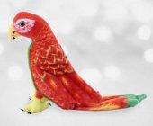 40cm Papağan Kuş Gerçek Yüzlü Peluş Oyuncak Kaliteli Sağlıklı