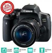 Canon Eos 750d 18 55mm Dc Fotoğraf Makinesi