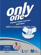 Yetişkin Hasta Altı Bezi Only One Marka 240 Adet