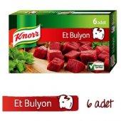 Knorr Et Suyu Bulyon 6lı Tablet