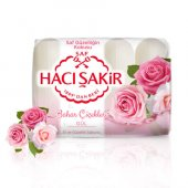 Hacı Şakir El Ve Güzellik Sabunu Bahar Çiçekleri Gül 4x70 Gr