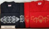 Hobby Bornoz Seti Smart Siyah Kırmızı