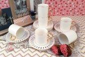 Acar Porselen 6lı Çay Fincan Takımı