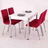 Mutfak Masa Takımı Kumaş Masa Sandalye Seti