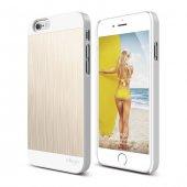 Elago Outfit Matrix Beyaz Gold İphone 6 6s Kılıf
