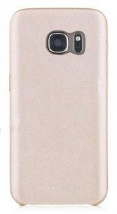 Totudesign Samsung S7 Deri Ruber Kılıf Gold