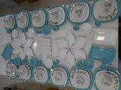 Keramika Turkuaz Butterfly Kahvaltı Takımı 12 Kişilik