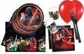 Star Wars Doğum Günü Malzemeleri 8li Ekonomik Set