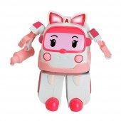Robocar Poli Amber Figür Robota Dönüşen Oyuncak Araba 13 Cm