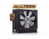 High Power 750w 80+ Bronze Güç Kaynağı (H12s)