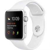 Apple Watch Seri 2 42mm Gümüş Rengi Alüminyum Kasa Ve Beyaz Spor