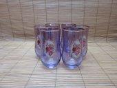 Elite Home Desenli Bardak Su Bardağı Meşrubat Bardağı 6 Lı