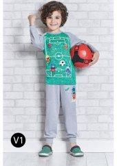 Roly Poly 1101 Erkek Çocuk Pijama Takımı 5 8 Yaş